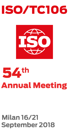 ISO/TC106 54° Annual Meeting